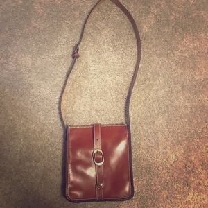 Cognac purse